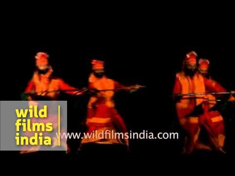 Punjab folks perform Bhangra dance to the beats of dhol
