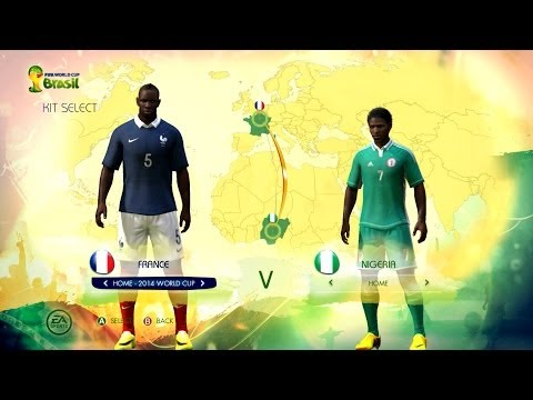 France v Nigeria: Digital World Cup
