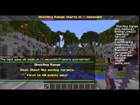 Talx plays: Minecraft minigame- Hypixel Arcade!