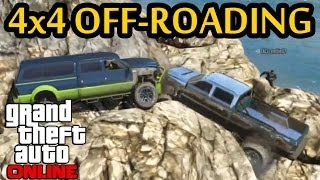 ★ GTA 5 Group Off-Road 4x4 Rock Crawl Livestream