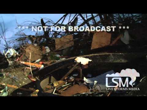 4/27/14 Mayflower, AR Wedge Tornado Damage *John Sibley HD*