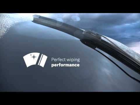 Bosch A300S Aerotwin front pair of wiper blades for Fiat 500