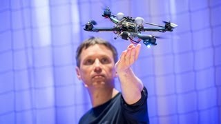 Ted Talks: Raffaello D'Andrea: The Astounding Athletic Power of Quadcopters