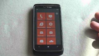 My HTC Trophy Running Windows 7.5. How Do I Take A