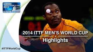 Review all the highlights from the MATSUDAIRA Kenta vs ARUNA Quadri Qual Groups first stage table tennis match at the2014...</div><div class=