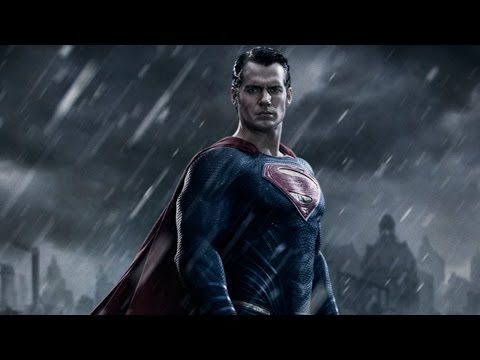 Henry Cavill Batman v Superman First Official Look!