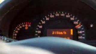 Mercedes Benz C320 Top Speed 0 258km.h