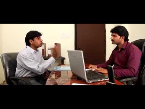 BACK DOOR ( Telugu Best Comedy Short Film With Funny Software Interviews)