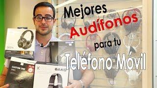 Audífonos, auriculares para teléfono móvil