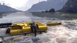 GTA V Dinghy, Submarine & Scuba Gear Locations.