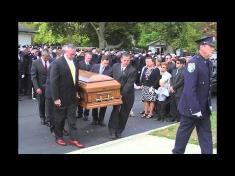 A final salute to Officer Goodale