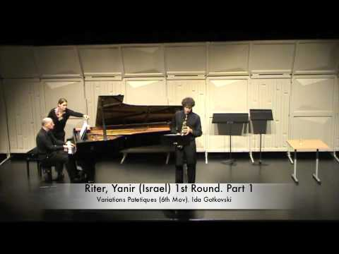 Riter, Yanir (Israel) 1st Round. Part 1