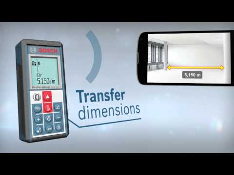 GLM 100 C Professional and GLM measure&document