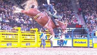 Ryder Wright Rides BIG in Round 4 | NFR 2017 Interviews