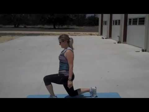 Shrinking Bootcamp-Lunges