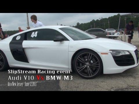 Audi V10 Vs BMW M3