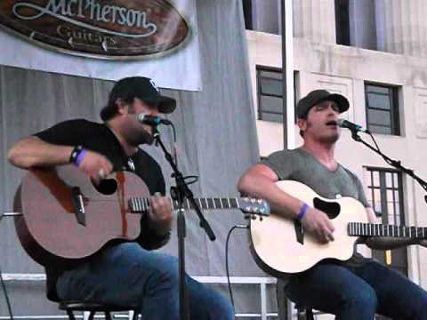 Jerrod Niemann and David Tolliver Singing