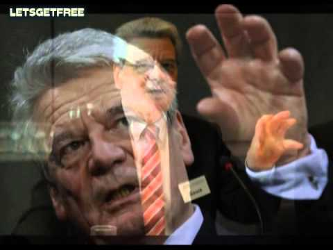German Sell Outs pT. 2 JOACHIM GAUCK German Federal President Saturns Pawn