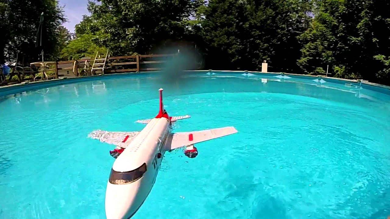 lego airplane crash in water wwwimgkidcom the image