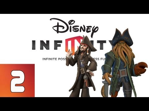 Disney Infinity: Pirates of the Caribbean - Part 2 (Walkthrough, Gameplay, Commentary)