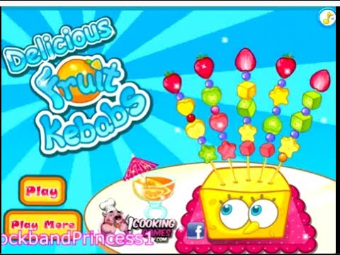 Spongebob Squarepants Games Online To Play Free Spongebob Children's Games - Food Decoration Game