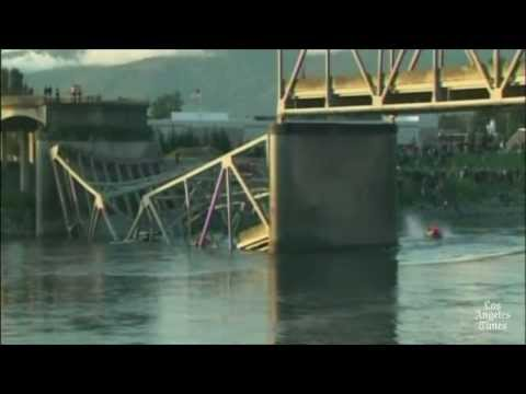 Headline: Washington bridge collapse injures three, revives talk on national bridge safety