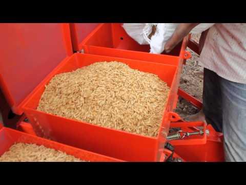 ระบบเพิ่มผลผลิตข้าว นาปี นาน้ำฝน นาหยอดข้าวแห้ง Rice Seed Planter-3