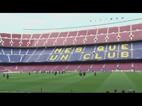 Barcelona plan new 105,000 seater stadium