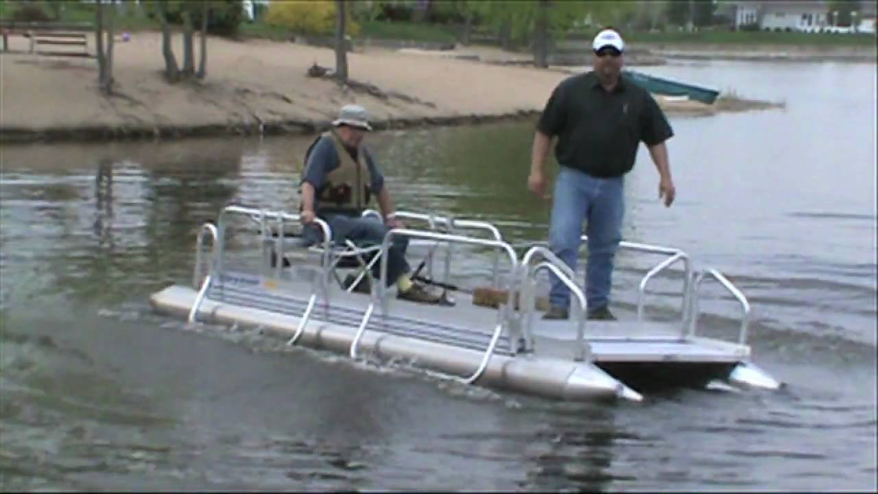 hotwoods fish-n-sport 510 pontoon boat