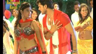 Khesari Lal And Neha Shree Song Shoot Of The Bhojpuri Film
