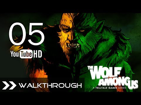 The Wolf Among Us Episode 3 A Crooked Mile - Walkthrough Gameplay Full
