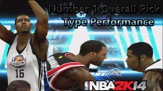 NBA 2K14 MyCAREER How To Get Drafted #1 Overall In Your