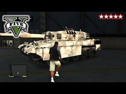 GTA 5 TANK WARS!!! - GTA 5 CUSTOM CARs! - Hanging With the Crew Grand Theft Auto 5