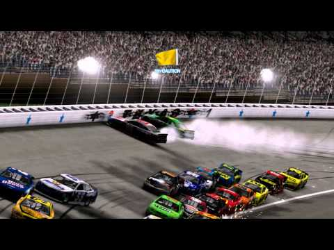 NASCAR The Game 2013 - Texas - AI Always Crashes (BUG?!)