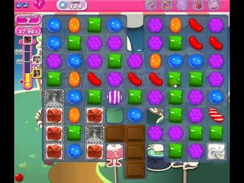 How to beat Candy Crush Saga Level 154 - 1 Stars - No Boosters - 35