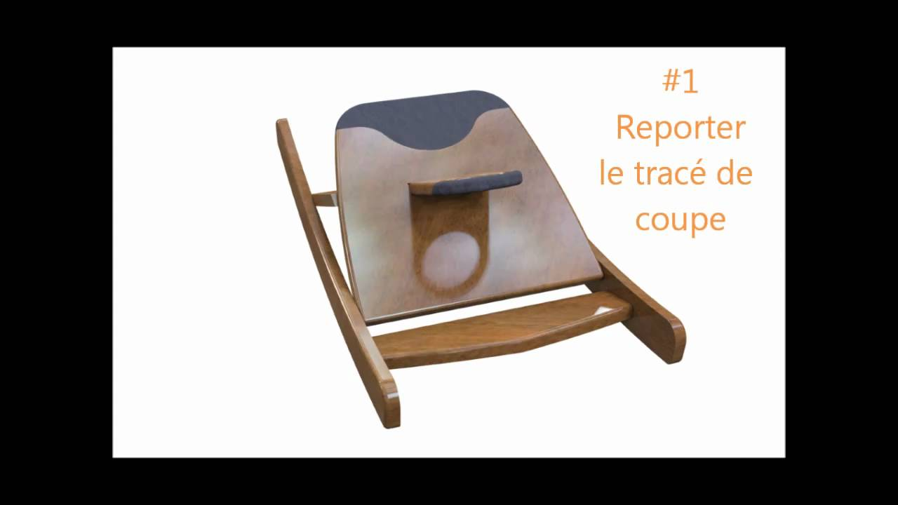 Chaise africaine basculante meo a fabriquer soi meme for Chaise africaine