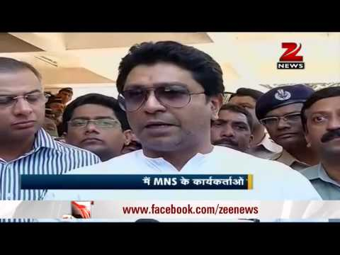 Anti-toll protest: Raj Thackeray meets Prithviraj Chavan