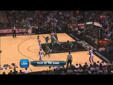 Manu Ginobili No Look Pass To Danny Green