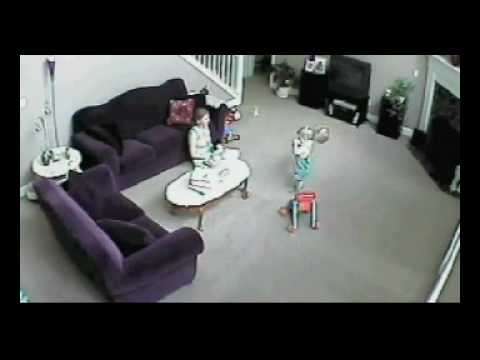 Cat saves child from mom youtube