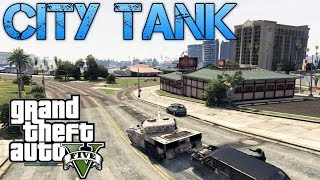 Grand Theft Auto V Challenges TANK CITY RAMPAGE