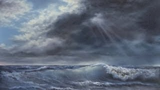 Paint With Kevin Hill Sunlight Across The Surf