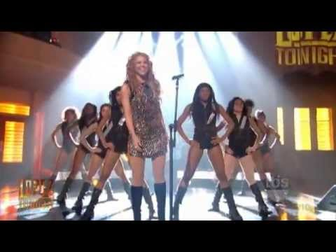 Shakira - Give It Up To Me - Live On Lopez Tonight Show