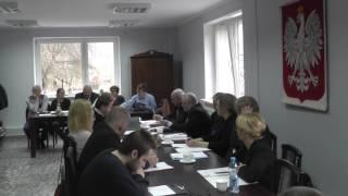 Dnia 23 marca br. w Ośrodku Kultury, Sportu i Turystyki we Wleniu odbyła się XXX Sesja Rady Miasta i Gmin