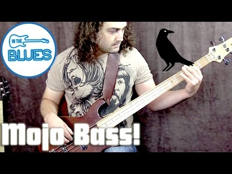 Little Crow Bass Guitar Demo with Oscar