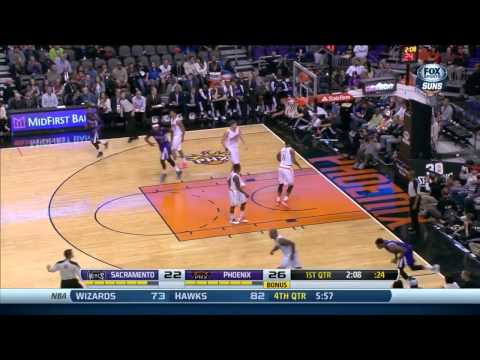 Rudy Gay's Kings debut 20 points vs Phoenix Suns full highlights 2013/12/13 HD