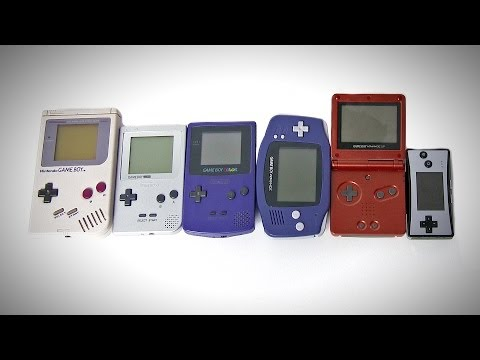 The Game Boy Collection (Pocket, Color, Advance, SP, Micro)