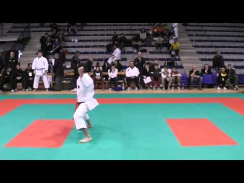 karate italian open 2014 kata senior final male