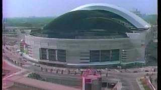 Historic photo from 1986 - SkyDome / Rogers Centre Built In Two And A Half Minutes - timelapse 1986-1989 in CNE