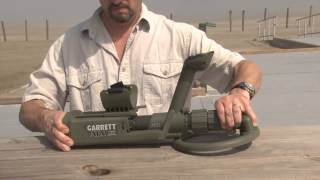 The Garrett ATX Metal Detector - How to Use - Part 2