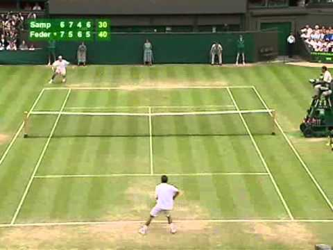 Federer VS Sampras 2001 Wimbledon DVD - Tennis Express
